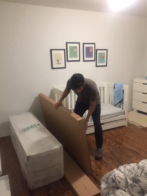 Family Travel Guide, Choosing a child's mattress